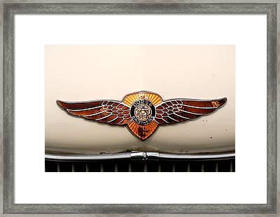 Dodge Brothers Emblem Framed Print