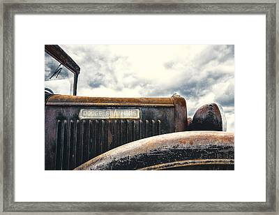 Dodge Brothers Framed Print by Humboldt Street