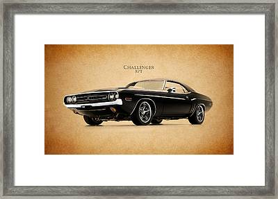 Dodge Challenger Framed Print by Mark Rogan