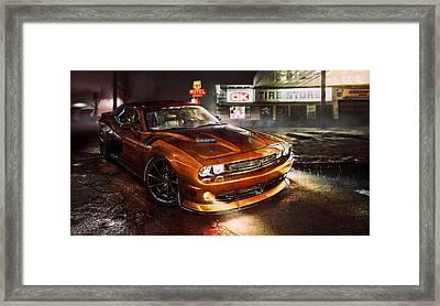 Dodge Challenger R T Framed Print