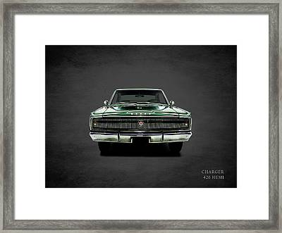Dodge Charger 426 Hemi Framed Print by Mark Rogan