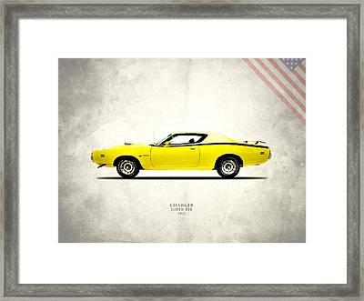 Dodge Charger Super Bee Framed Print by Mark Rogan