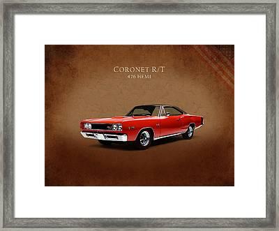 Dodge Coronet 426 Hemi Framed Print by Mark Rogan