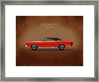 Dodge Coronet R T Framed Print