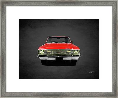 Dodge Dart 340 Framed Print by Mark Rogan