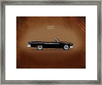 Dodge Dart D 500 Framed Print