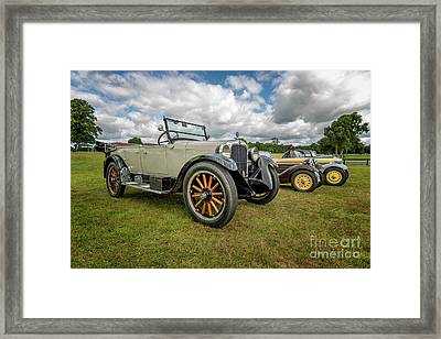 Dodge Four Tourer Framed Print by Adrian Evans
