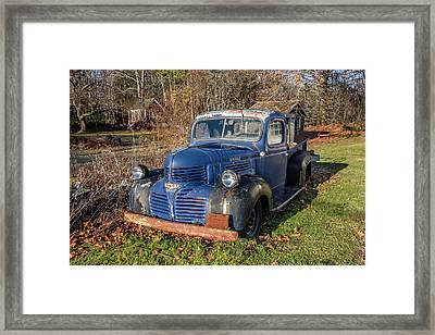 Dodge Pickup Framed Print