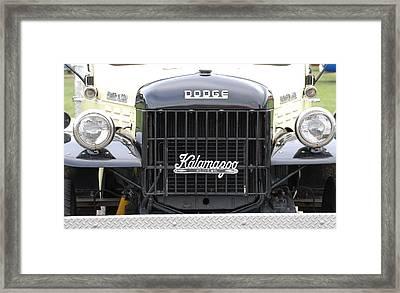 Dodge Power Wagon Framed Print