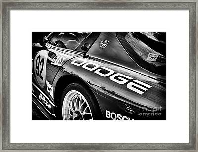 Dodge Viper Gts R Framed Print by Tim Gainey