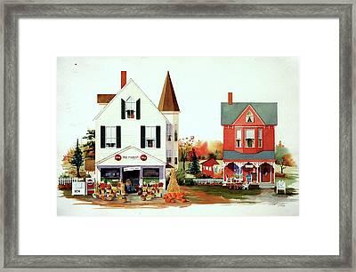 Dodges's Market Framed Print by William Renzulli