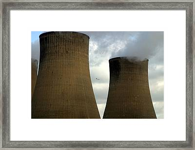 Framed Print featuring the photograph Dodging by Jez C Self