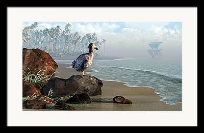 Dodo Bird Framed Prints