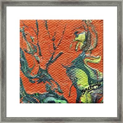 Dodo Bird Uprising Framed Print