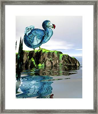 Dodo Framed Print by Victor Habbick Visions