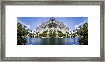 Doghead Mountain Framed Print by Pelo Blanco Photo