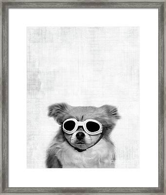 Goggles  Framed Print