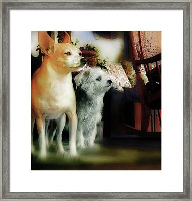 The Real Chiqui And Heichel Framed Print