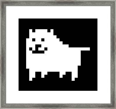 Dog Framed Print by Rene Gut