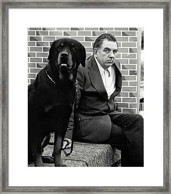 Dog Show 2 Framed Print