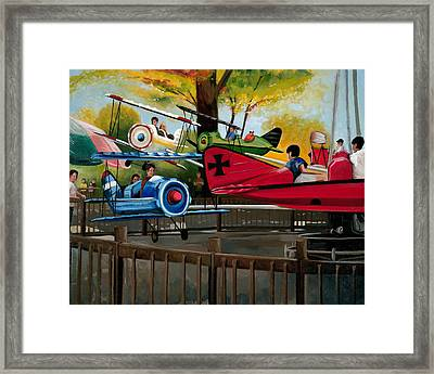 Dogfight Framed Print by John OBrien