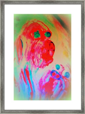 Dogs Are More Human Than Many People   Framed Print by Hilde Widerberg