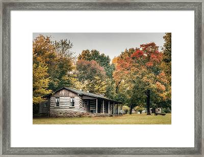 Dogtrot House Framed Print by James Barber