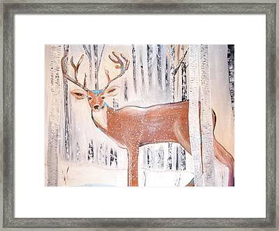 Doing Me Framed Print by Poonam Choudhary