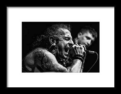 Frontman Framed Prints