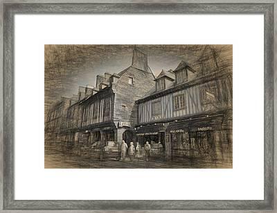 Dol Main Street Framed Print