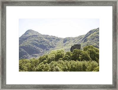 Dolbadarn Castle.  Framed Print by Christopher Rowlands