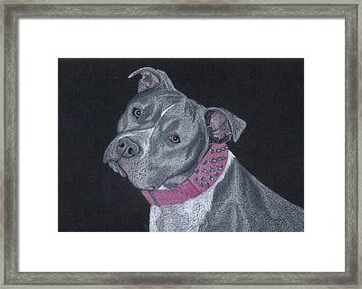 Dolce Framed Print by Stacey Jasmin