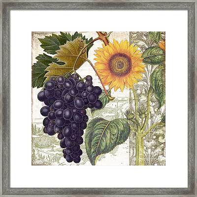 Dolcetto I Framed Print by Mindy Sommers