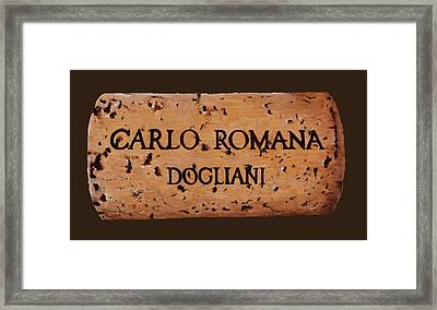 dolcetto Romana Framed Print