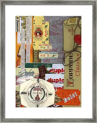Dolci Framed Print by Nancy Ferrier
