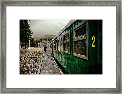 Dolene Railway Station Bulgaria Framed Print