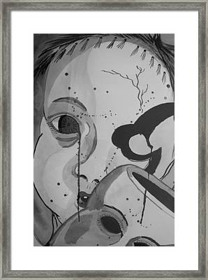 Doll Parts 2 Framed Print by Robert Hofmann