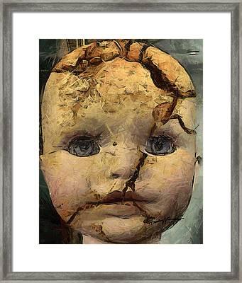 Doll Trauma Framed Print by Anthony Caruso
