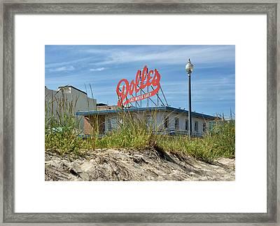Dolles Candyland - Rehoboth Beach Delaware Framed Print