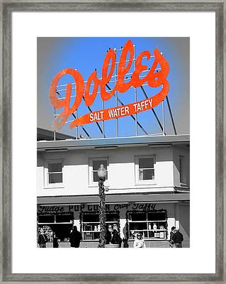 Dolles Taffy Framed Print