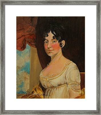 Dolley Madison Framed Print