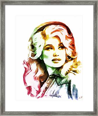 Dolly Parton Collection - 1 Framed Print