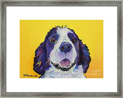 Dolly Framed Print by Pat Saunders-White
