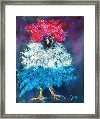 Dolly Framed Print by Sally Seago