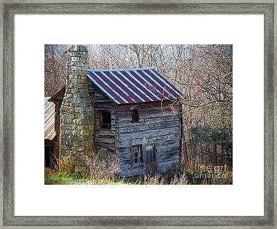 Dolly's Hearth - Pendleton County West Virginia Framed Print