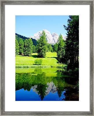 Dolomiti Framed Print by Darkus Photo