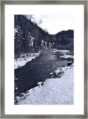 Dolores River Framed Print by Bianca Collins