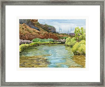 Dolores River Gateway Co Framed Print