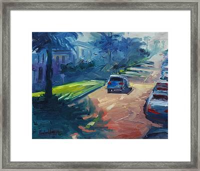 Dolores Street Framed Print by Rick Nederlof
