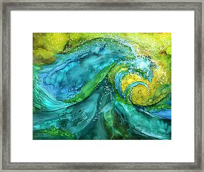 Dolphin Waves Framed Print